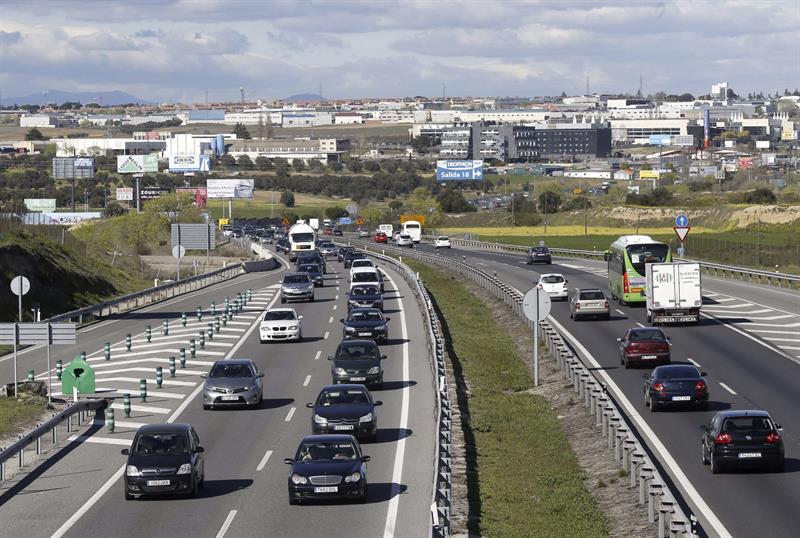 El lunes se reabre al tr fico la v a de servicio de la a 5 - Jefatura provincial de trafico madrid ...