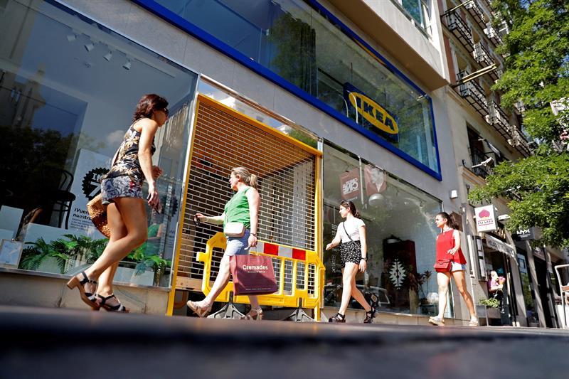 Ikea abre al público en el centro de Madrid la tienda urbana