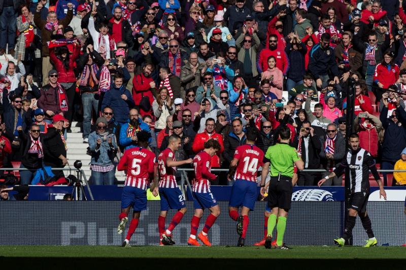 Griezmann mantiene su racha y da la victoria al Atlético (1-0)