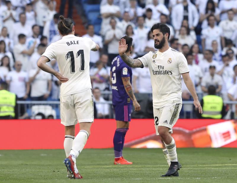 2-0. Isco y Bale dan la victoria al Real Madrid en la vuelta de Zidane -  EcoDiario.es c56322694dc48