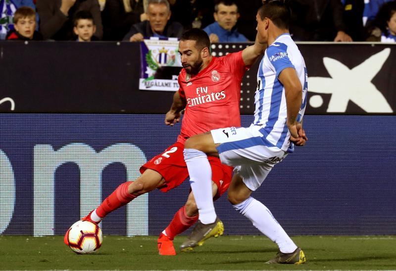 Jonathan Silva adelanta al Leganés al descanso