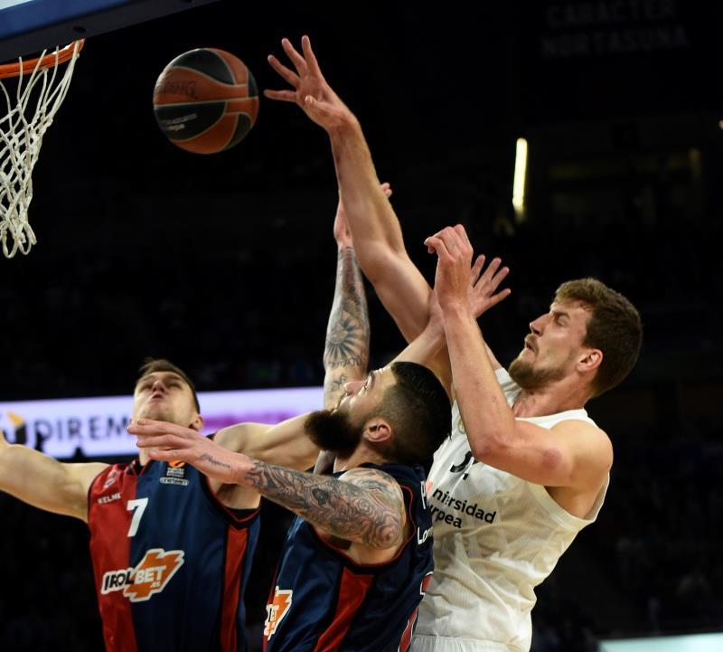 Real Madrid y Kirolbet Baskonia arrancan los cuartos de final el jueves 30