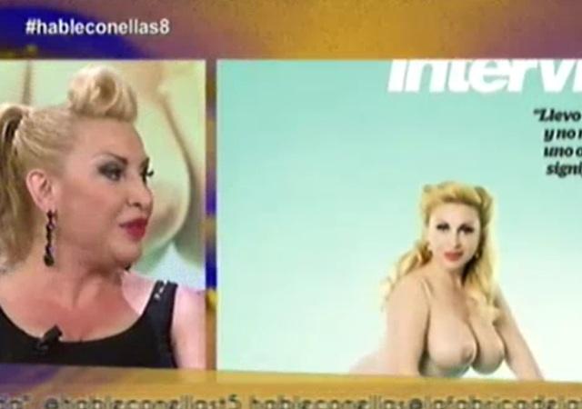 Vídeo Raquel Mosquera Aparece En Televisión Tras Su Portada En