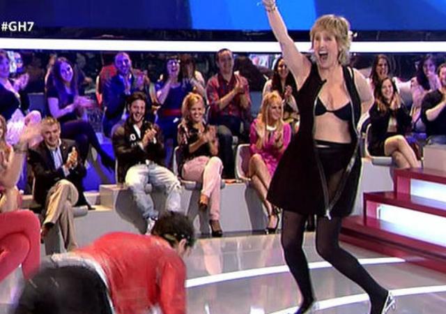 Mercedes Milá Se Desnuda En Directo En La Gala De Gran Hermano
